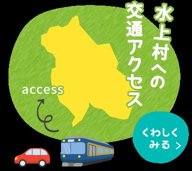 水上村への交通アクセス